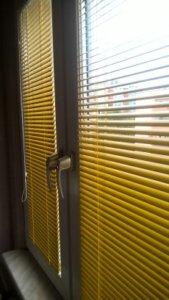 Żaluzje Aluminiowe Żółte