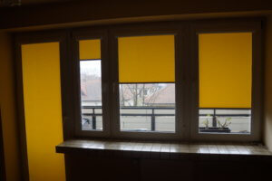 Rolety Wewnętrzne Żółte
