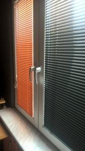 Żaluzje Aluminiowe Pomarańczowe